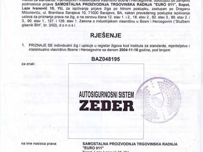 Žig - BiH