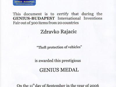 Budapest diploma
